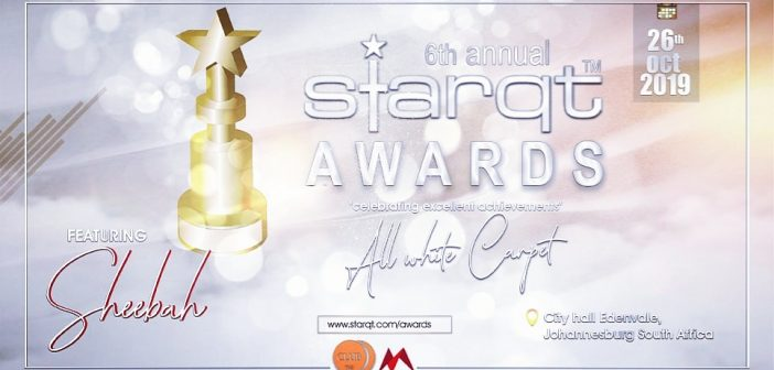 THE ALL WHITE 2019 STARQT AWARDS |Edenvale City Hall. |26. October 2019.